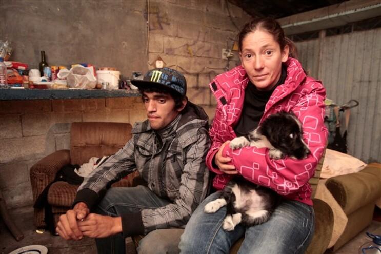 Fernanda Moutinho vive com Licínio Correia numa garagem