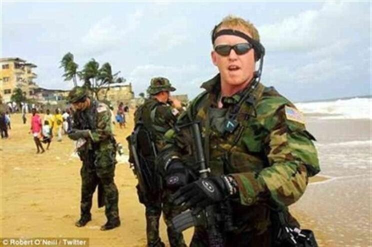 Rob O'Neill tem 38 anos e esteve 16 anos nos SEAL