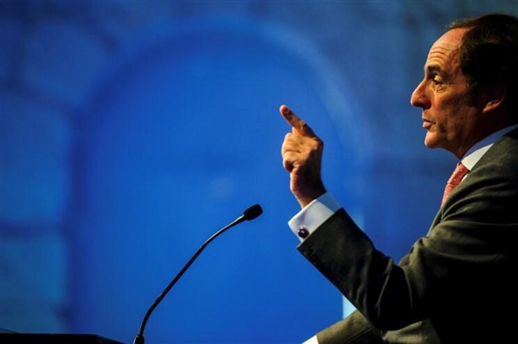 O vice-primeiro-ministro Paulo Portas