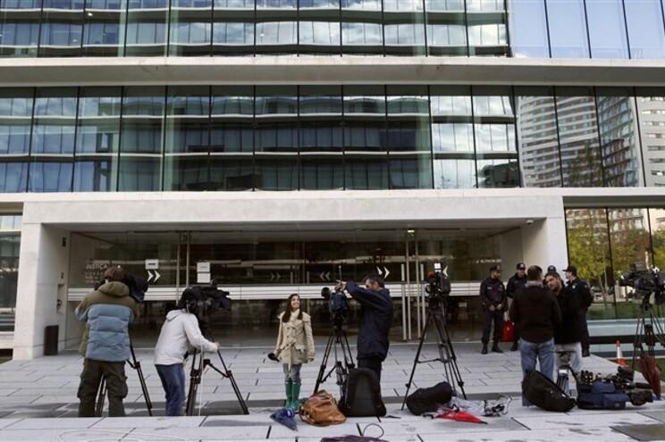 Detidos passaram esta sexta-feira pela tribunal para serem identificados