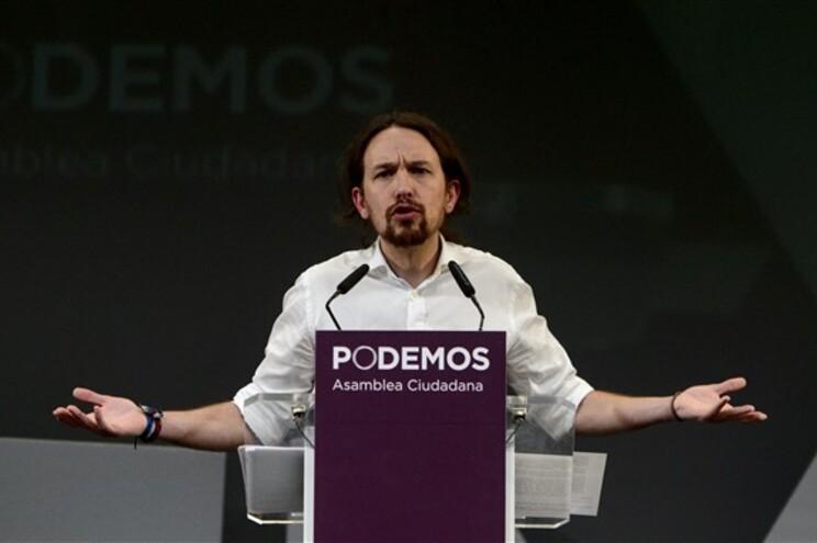 Pablo Iglesias discursa na Assembleia Cidadã do partido espanhol este sábado