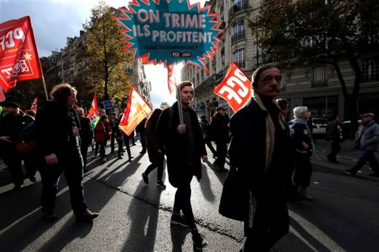 Protestos decorreram em 30 cidades francesas