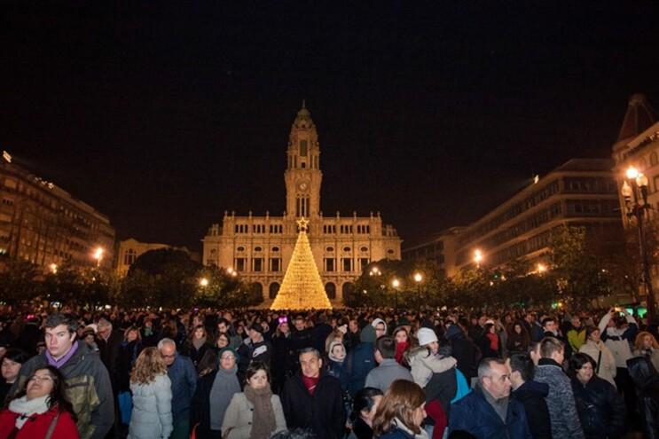 Cerca de 140 mil pessoas fizeram a festa no centro do Porto