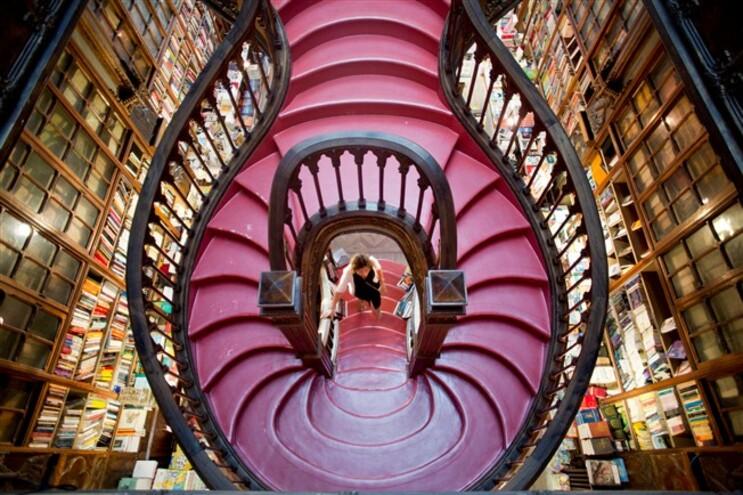 A lista inclui outras livrarias clássicas como a Shakespeare and Co., de Paris, e a Dominicanen, de Maastricht