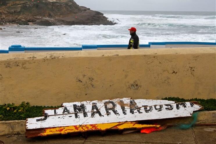 Marinha avalia condições para buscas dos pescadores desaparecidos em Sintra