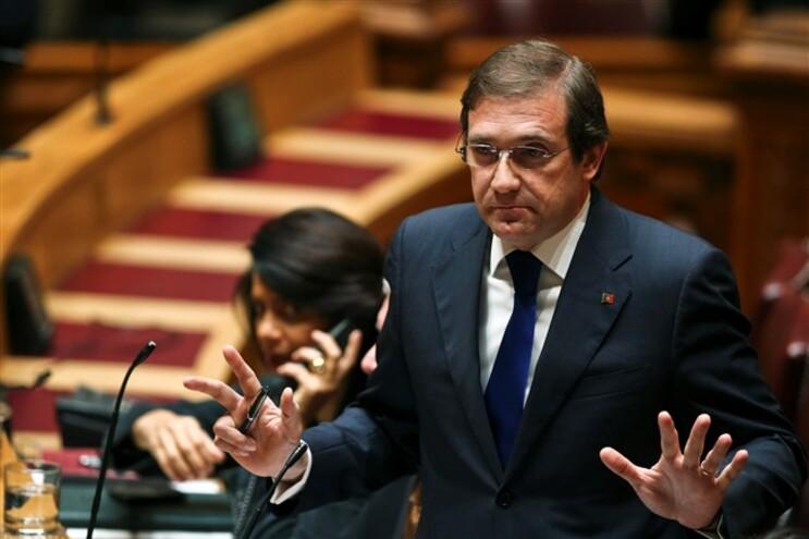 """Passos rejeita ser responsabilizado se """"algum desastre"""" acontecer à Grécia"""
