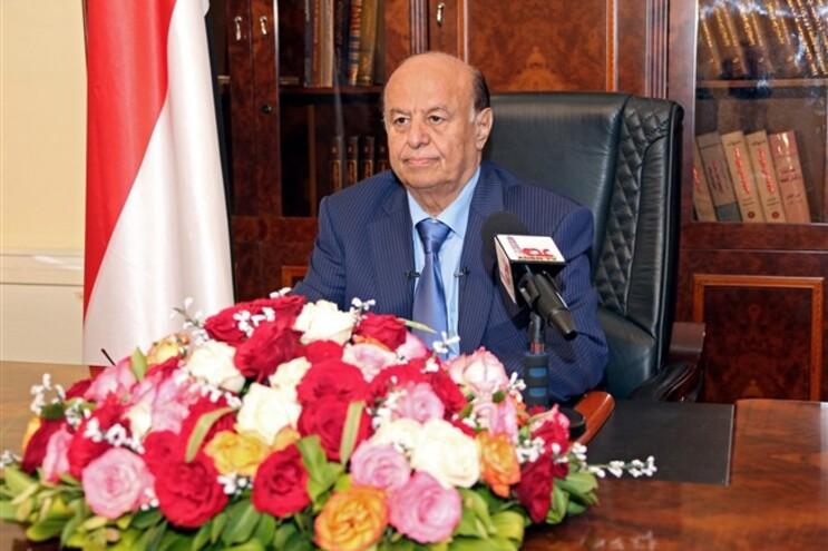 Hadi refugiou-se em Aden, em fevereiro, depois de fugir da capital, Sanaa