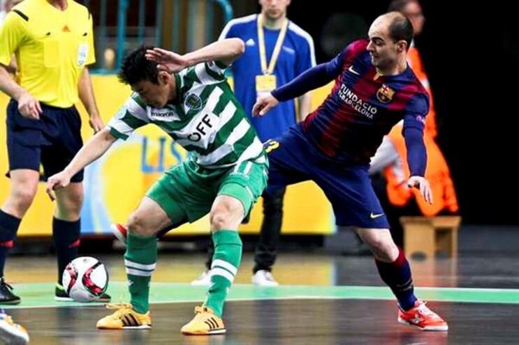 Sporting falhou o apuramento para a final da UEFA Futsal Cup