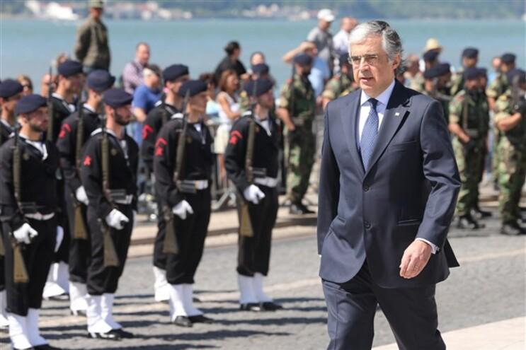 Cerimónia militar do Dia da Marinha no Terreiro do Paço, em Lisboa