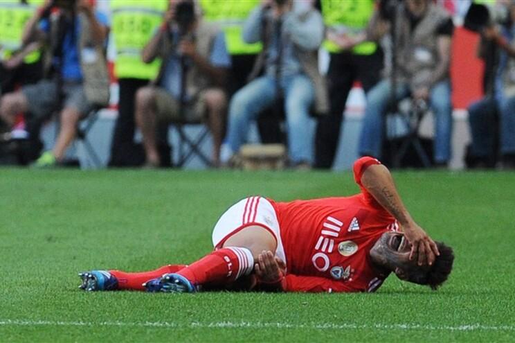Salvio lesionou-se no último jogo do campeonato
