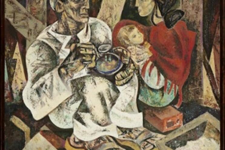 """Destino de """"O Almoço do Trolha"""" devia ser um museu, diz Júlio Pomar"""