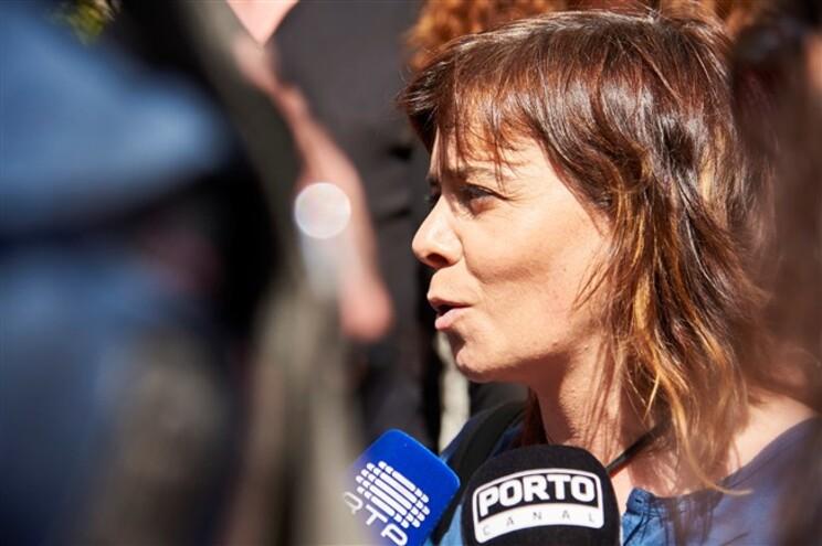 Porta-voz do BE, Catarina Martins, ataca primeiro-ministro