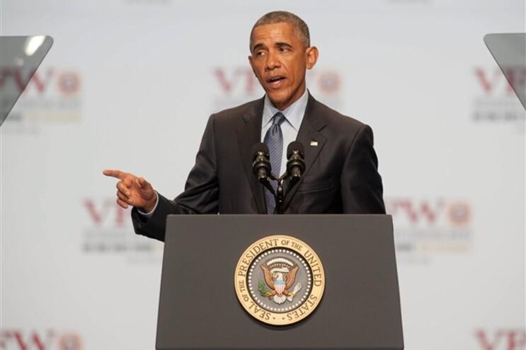 O Presidente dos Estados Unidos, Barack Obama, publicou uma mensagem na sua conta de Twitter dedicada