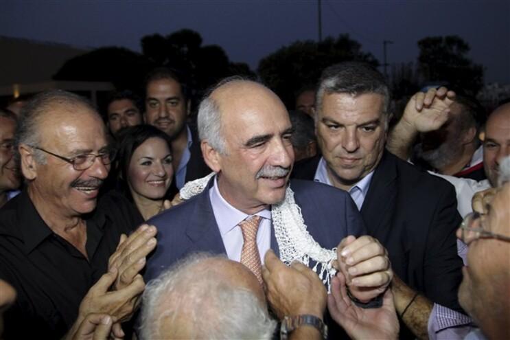 Evangelos Meimarakis, líder da Nova Democracia