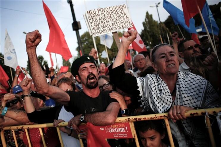 Marcelos rebelo de Sousa esteve na Festa do Avante