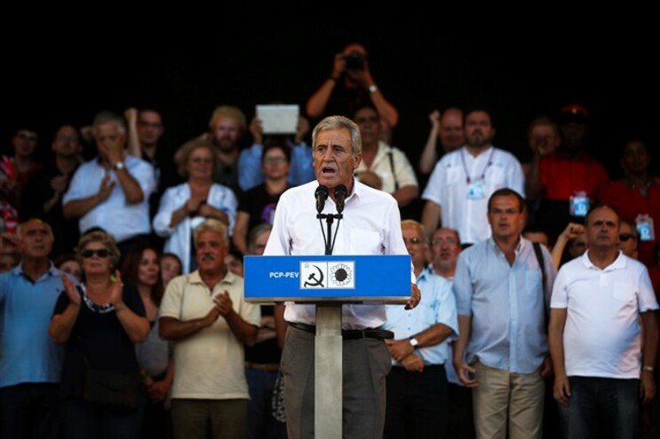 Jerónimo de Sousa discursou no encerramento da Festa do Avante