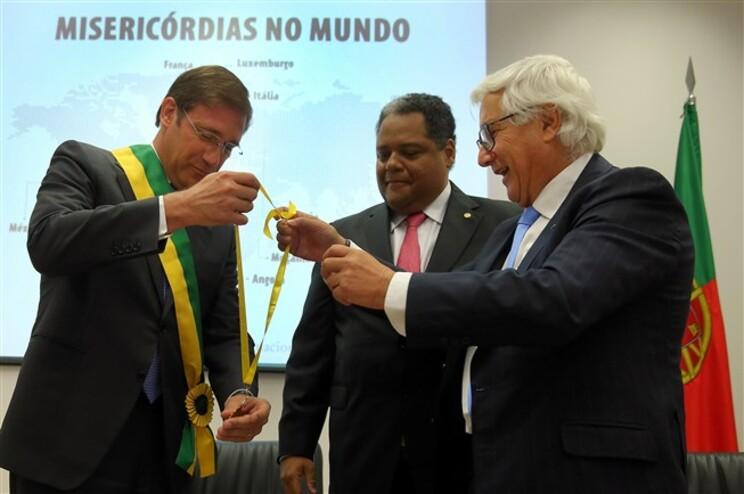 """Manuel de Lemos sublinhou ainda que """"a questão financeira não foi objeto de preocupação"""" das misericórdias"""