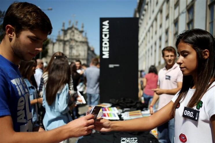 Receção aos novos estudantes da Universidade do Porto