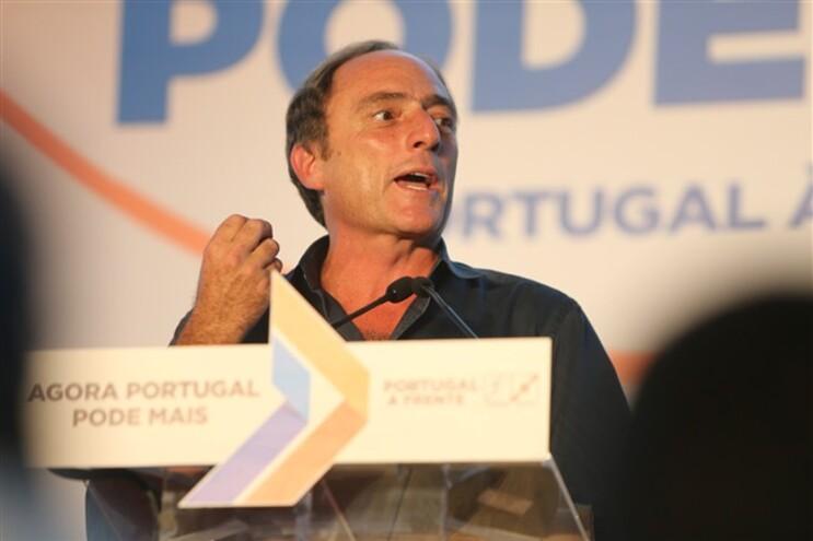 Paulo Portas no almoço-comício da coligação Portugal à Frente