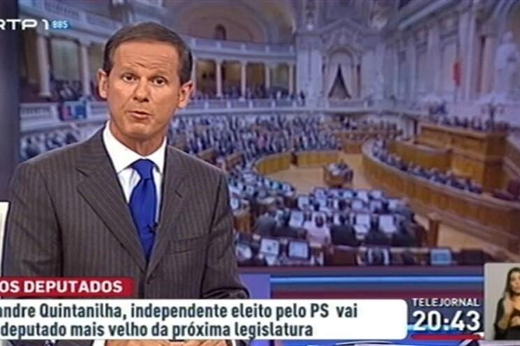 O momento em que José Rodrigues dos Santos diz a frase polémica