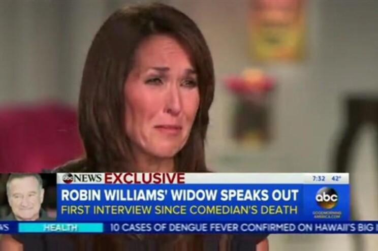 Susan Williams no programa Good Morning America