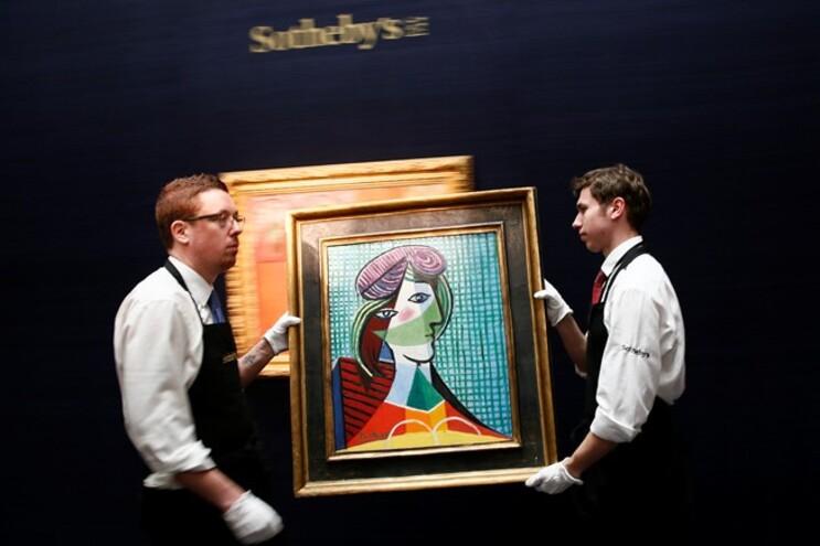 Quadro de Picasso vendido por mais de 25 milhões de euros