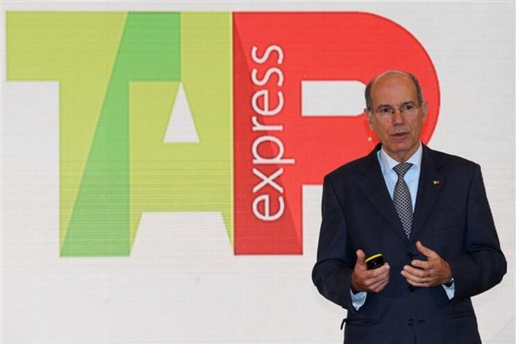 O presidente da TAP, Fernando Pinto