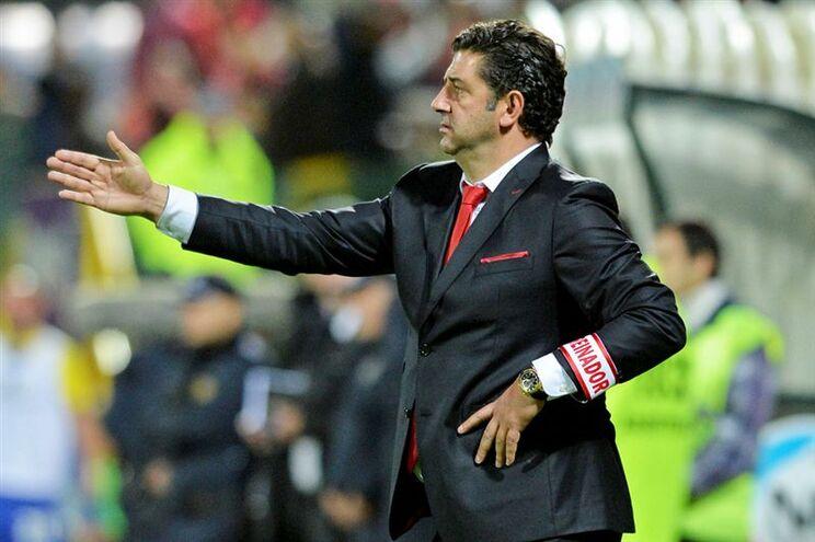 Benfica prepara recepção ao Braga