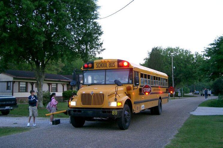 Autocarro escolar norte-americano