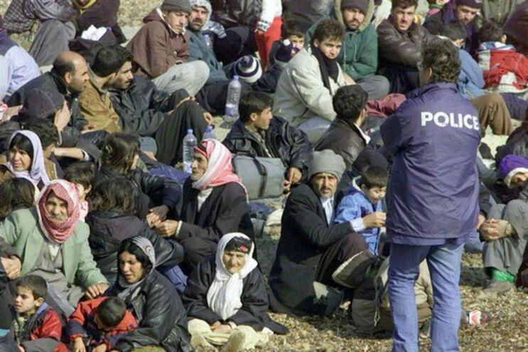 Imigrantes detidos na Europa