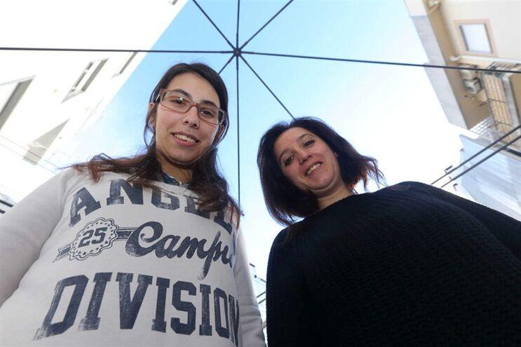 Tânia Pires e  Susana Reis