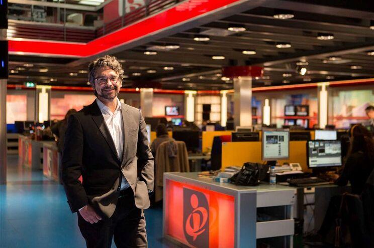 O director de Informação da TVI, Sérgio Figueiredo