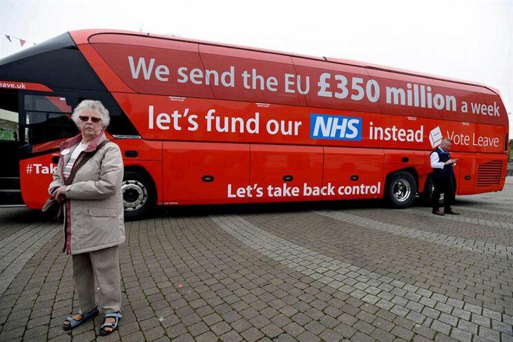 """Campanha em defesa do """"Brexit"""""""