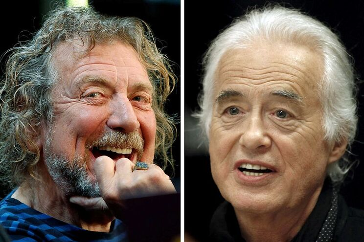 Robert Plant e Jimmy Paige foram ilibados