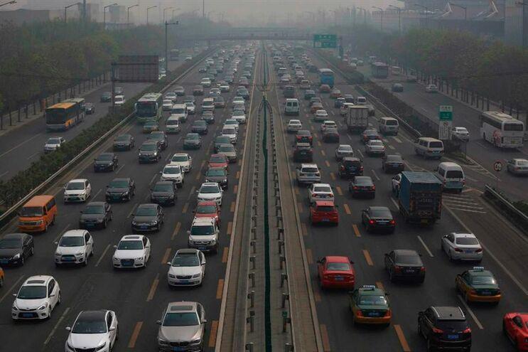 Cerca de 20 milhões de pessoas vivem em Pequim