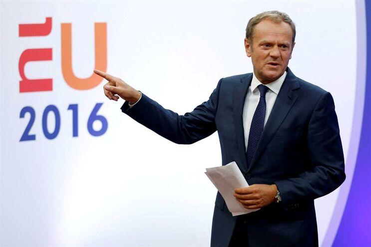 Donald Tusk, presidente do Conselho Europeu