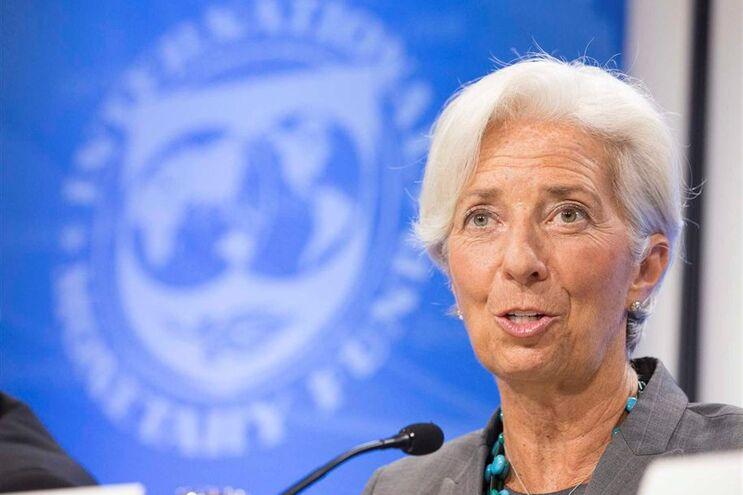 Christine Lagarde lidera o FMI