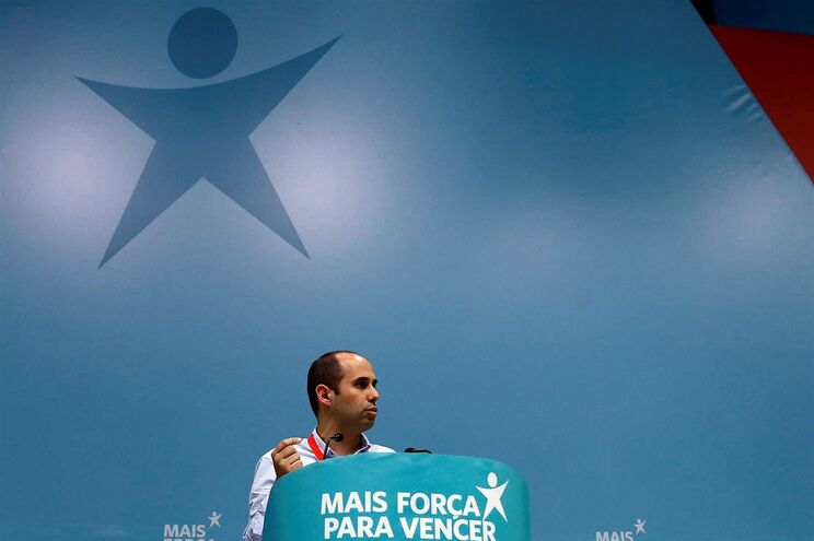 O líder do grupo parlamentar do Bloco de Esquerda, Pedro Filipe Soares