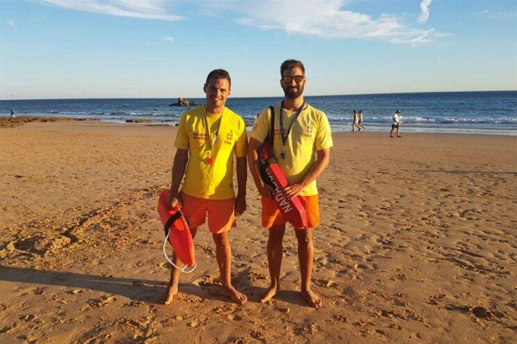 Entre os nadadores salvadores intervenientes estava João Capitão