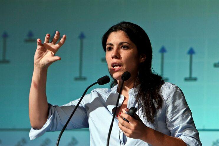 Deputada do Bloco de Esquerda Mariana Mortágua
