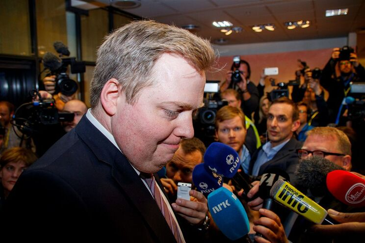 Sigmundur David Gunnlaugsson foi obrigado a demitir-se em abril