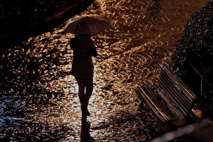 Chuva intensa e persistente e vento forte para o fim de semana