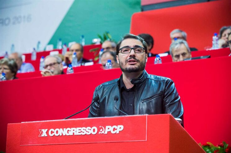 João Oliveira, deputado e líder parlamentar do Partido Comunista Português
