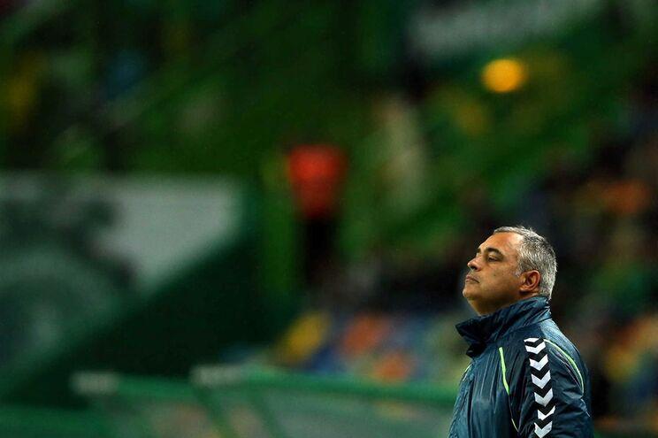 José Couceiro, treinador do V. Setúbal