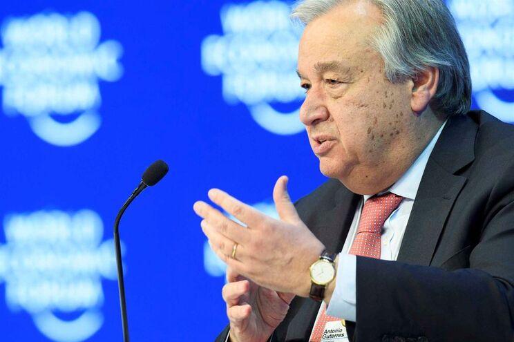 António Guterres critica Donald Trump