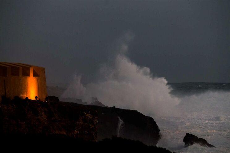 """Tempestade """"Dóris"""", Cascais"""