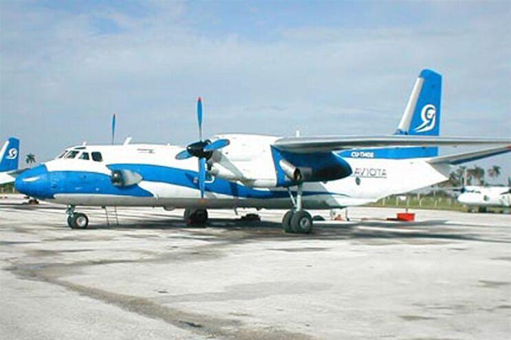 Um Antonov-25 da Aerograviota