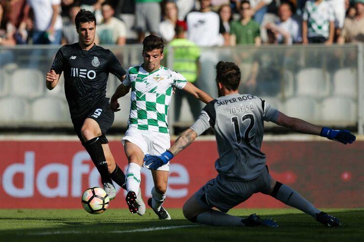 Frederic apontou o segundo golo do Moreirense, frente ao F. C. Porto