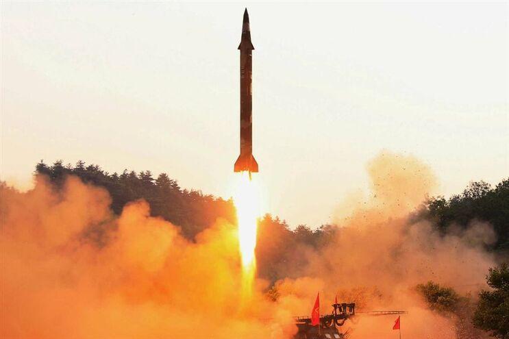 Míssil balístico lançado pela Coreia do Norte em maio