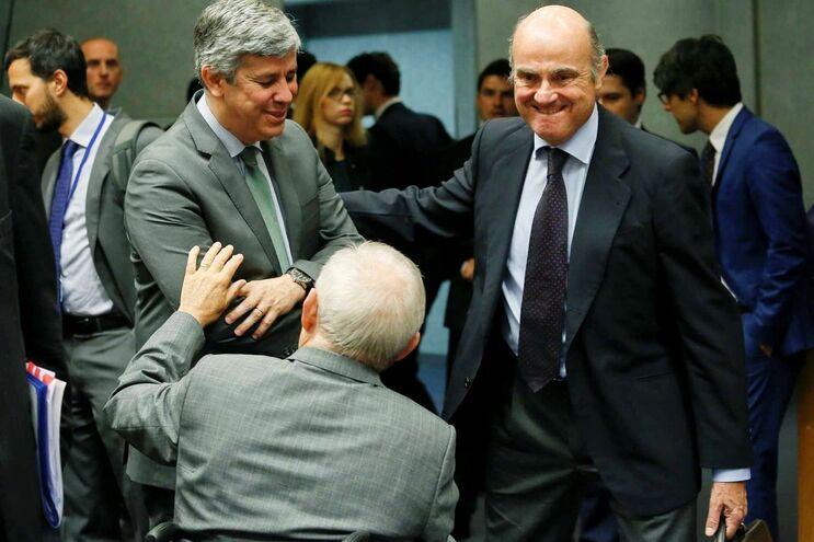 Ministro das Finanças, Mário Centeno, no Ecofin